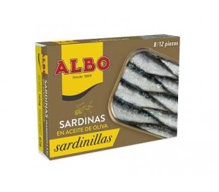 SARDINILLAS ACEITE OLIVA ALBO 105 GR.