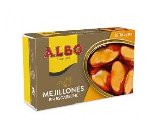 MEJILLONES ESCABECHE RIAS 10/14 ALBO 72 GRS.