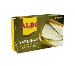 SARDINAS AC.OLIVA VIRGEN EX. ALBO 85 GR.