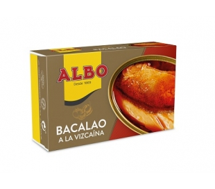 BACALAO VIZCAINA ALBO 120 GRS.
