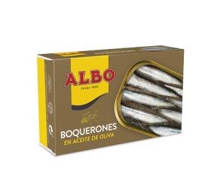 BOQUERONES ACEITE OLIVA ALBO 84 GRS.