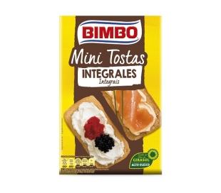 MINI TOSTAS INTEGRALES BIMBO 100 GRS.