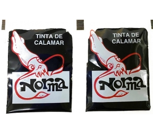 TINTA CALAMAR SOBRES PACK 2X4 GRS.
