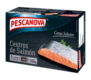 SALMON CENTRO PESCANOVA 250 GR.