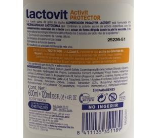 GEL DE BAÑO ACTIVIT PROTECTOR LACTOVIT 600 ML.