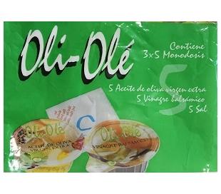 MIXTO ACEITE OL.VIR+ VINAGRE+SAL OLI-OLE PACK 3X5 MONODOSIS