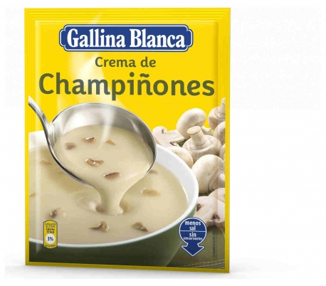 CREMA CHAMPIÑONES GALLINA BCA. 67 GR.