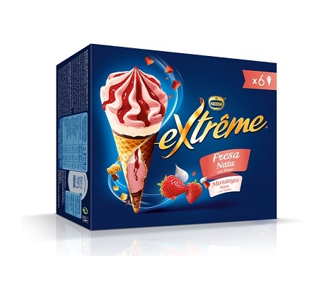helado-cono-extreme-fresa-nata-nestle-pack-6x120-ml