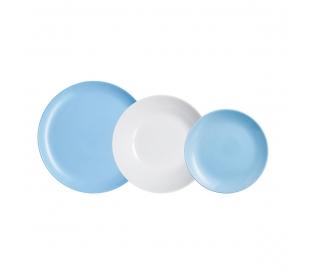 vajilla-diwali-light-azul-blanc-luminarc-18-piezas