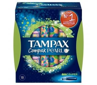 TAMPON COMPAK PEARL SUPER TAMPAX 16 UDS.