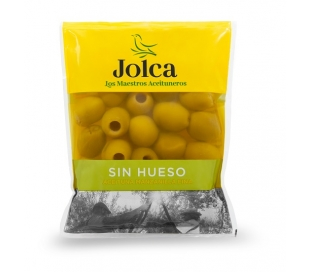 ACEITUNAS SIN HUESO JOLCA BOLSA 75 GRS.