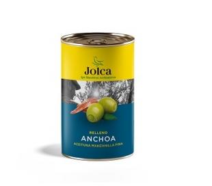 ACEITUNAS RELL.ANCHOA JOLCA LATA 300 GR