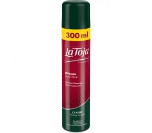 ESPUMA AFEITAR CLASSIC LA TOJA 250+50 ML.