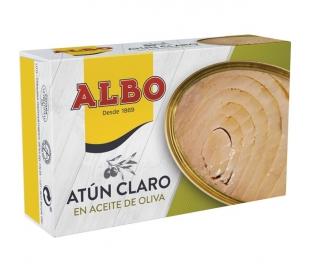ATUN CLARO ACEITE OLIVA ALBO 120 GRS.
