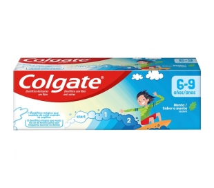 PASTA DENTAL SMILES 6+ NIÑOS COLGATE 50 ML.