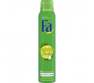 DESODORANTE SPRAY LIMON CARIBE FA 200 ML.
