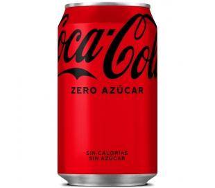 REFRESCO ZERO COCA COLA 330 ML.