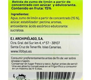 LIMONADA FRESH LIGHT LIBBYS CRISTAL 1 L.