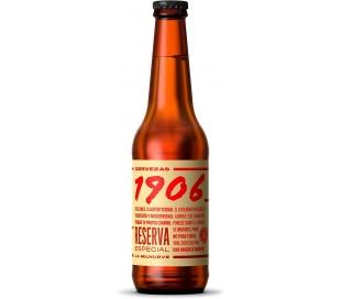 CERVEZA 1906 RESERVA ESP. ESTR.GALICIA BOTELLA 6X33 CL.