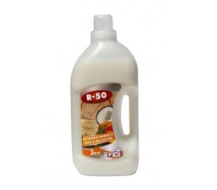 DETERGENTE LIQUIDO COCO-MELOCOTON R-50 3 L.