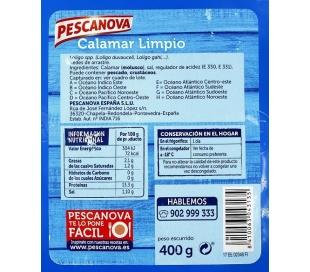 CALAMAR LIMPIO PESCANO400