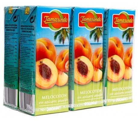 nectar-melocoton-sin-azucar-tamarindo-pack-6x200-ml