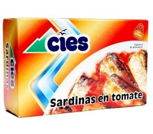 SARDINAS EN TOMATE CIES 78 GR.