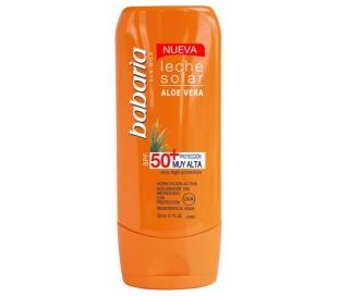 leche-solar-aloe-vera50-proteccion-malta-babaria-100-grs