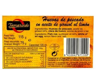 HUEVAS LIMON TAMARINDO 75 GR.
