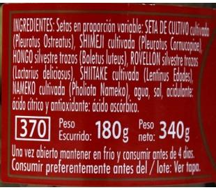 SETAS GRAN SURTIDO EMPERATRIZ 340 GR.