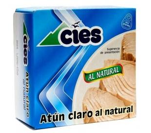 ATUN CLARO AL NATURAL CIES 105 GR.
