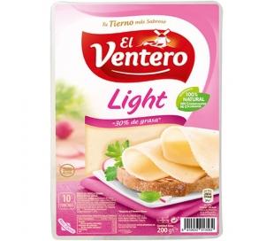 QUESO LIGHT BANDEJA EL VENTERO 160 GRS.