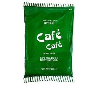 CAFE MOLIDO NATURAL CAFE CAFE 250 GR.