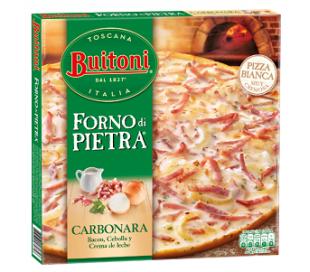 PIZZA FORNO PIETRA CARBONARA BUITONI 300 GRS.