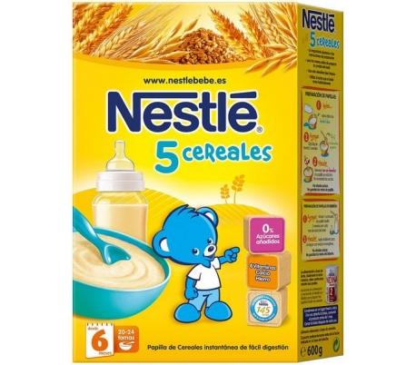 papilla-5-cereales-nestle-600-gr