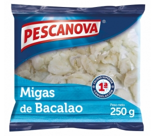 BACALAO MIGAS PESCANOVA 250 GRS.