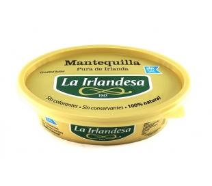 MANTEQUILLA SIN SAL LA IRLANDESA 250 GRS.