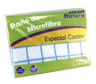 PAÑO MICROFIBRA COCINA ARCON NATURA 1 UN.