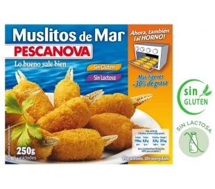 SURIMI MUSLITOS DEL MAR PESCANOVA 250 GR.
