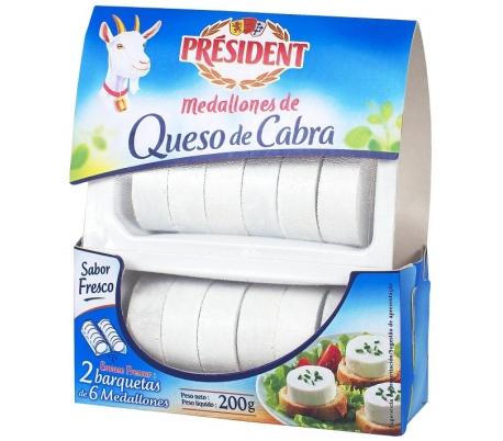 queso-cabra-medallones-fresco-president-200-grs