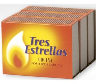 FOSFOROS LARGOS COCINA TRES ESTRELLAS PACK 3 UN.