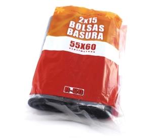 BOLSA BASURA 30 L. MAXI AHORRO R-50 30 UN.