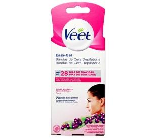 banda-cera-depilar-facial-easy-gel-veet-20-un