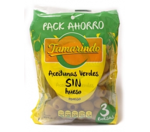 ACEITUNAS SIN HUESO TAMARINDO PACK 3X160 GR.