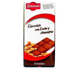 CHOCOLATE EXTRA ALMENDRA TAMARINDO 150 GR.
