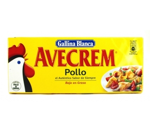 CALDO AVECREM POLLO GALLINA BLANCA 12PASTILLAS. 120 GR.