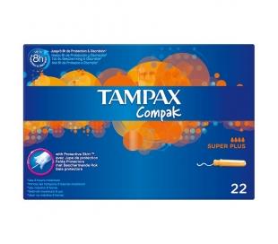 TAMPON SUPER PLUS COMPAK TAMPAX 22 UDS.