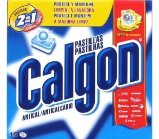 PASTILLAS ANTICAL PARA LAVADORAS CALGON 15X225 GR.