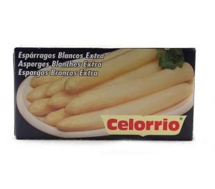 ESPARRAGOS BLANCOS EXTRA CELORRIO 9/12 UN. 125 GR.