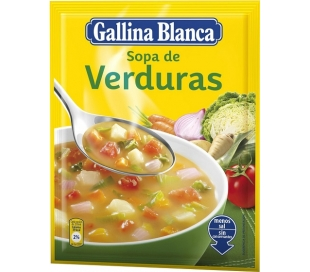 SOPA VERDURAS GALLINA BLANCA 57GR